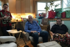 Christmas 2018 with Eric and Jason